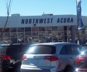 Store front for Northwest Acura