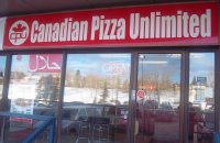 Store front for Canadian Pizza Unlimited