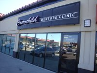 Store front for Crowchild Denture Clinic