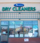 Store front for Dolphin Dry Cleaners