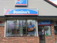 Store front for Domino's Pizza
