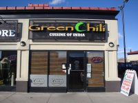 Store front for Green Chili