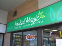 Store front for Herbal Magic Weight Loss & Nutrition Centres