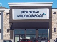 Store front for Hot Yoga On Crowfoot