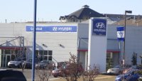 Store front for Crowfoot Hyundai