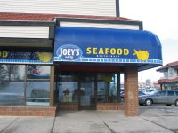 Store front for Joey's Only Seafood