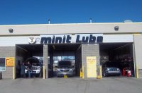 Store front for Minit Lube