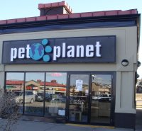 Store front for Pet Planet