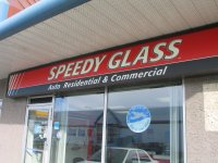 Store front for Speedy Glass