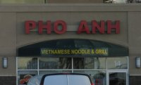 Store front for Pho Anh