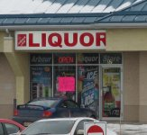 Store front for Arbour Lake Liquor