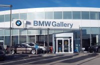 Store front for The BMW Gallery