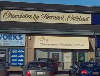 Store front for Chocolaterie Bernard Callebaut