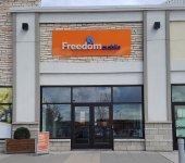 Store front for Freedom Mobile