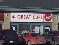 Store front for Great Clips