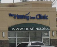 Store front for The Hearing Loss Clinic