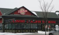 Store front for Hudsons Canadian Tap House
