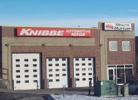 Store front for Knibbe Automotive Repair