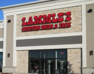 Store front for Lammle's Western Wear & Tack