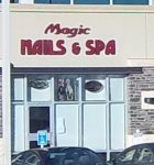 Store front for Magic Nails and Spa
