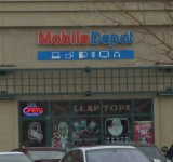 Store front for Mobile Depot