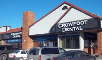 Store front for Crowfoot Dental
