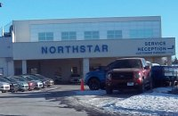 Store front for Northstar Ford