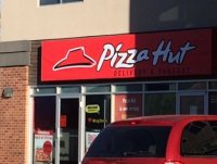 Store front for Pizza Hut