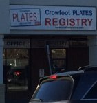 Store front for Crowfoot Plates