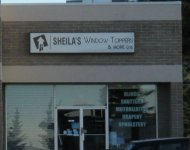 Store front for Sheila's Window Toppers & More Ltd.