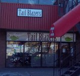 Store front for Tail Blazers